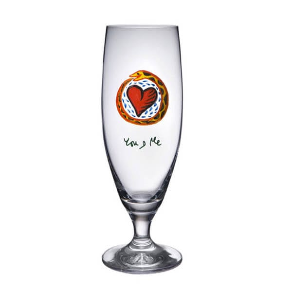 Friendship ölglas, you and me 50cl