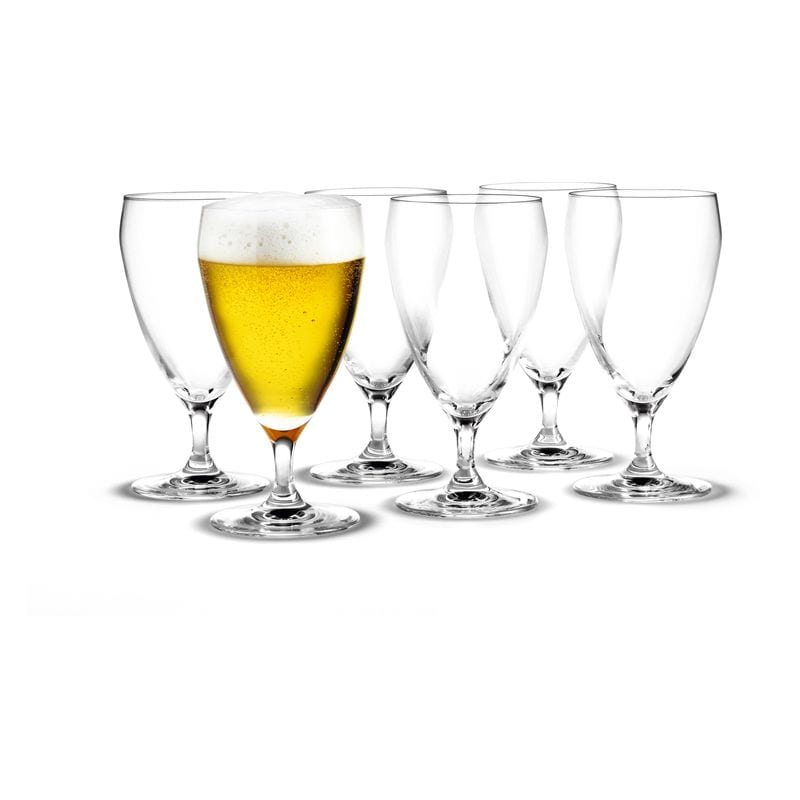 Perfection Ölglas 44 cl, 6-pack Holmegaard