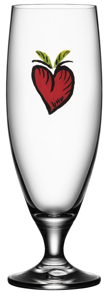 Kosta Boda Friendship Ölglas Hearts 50 cl