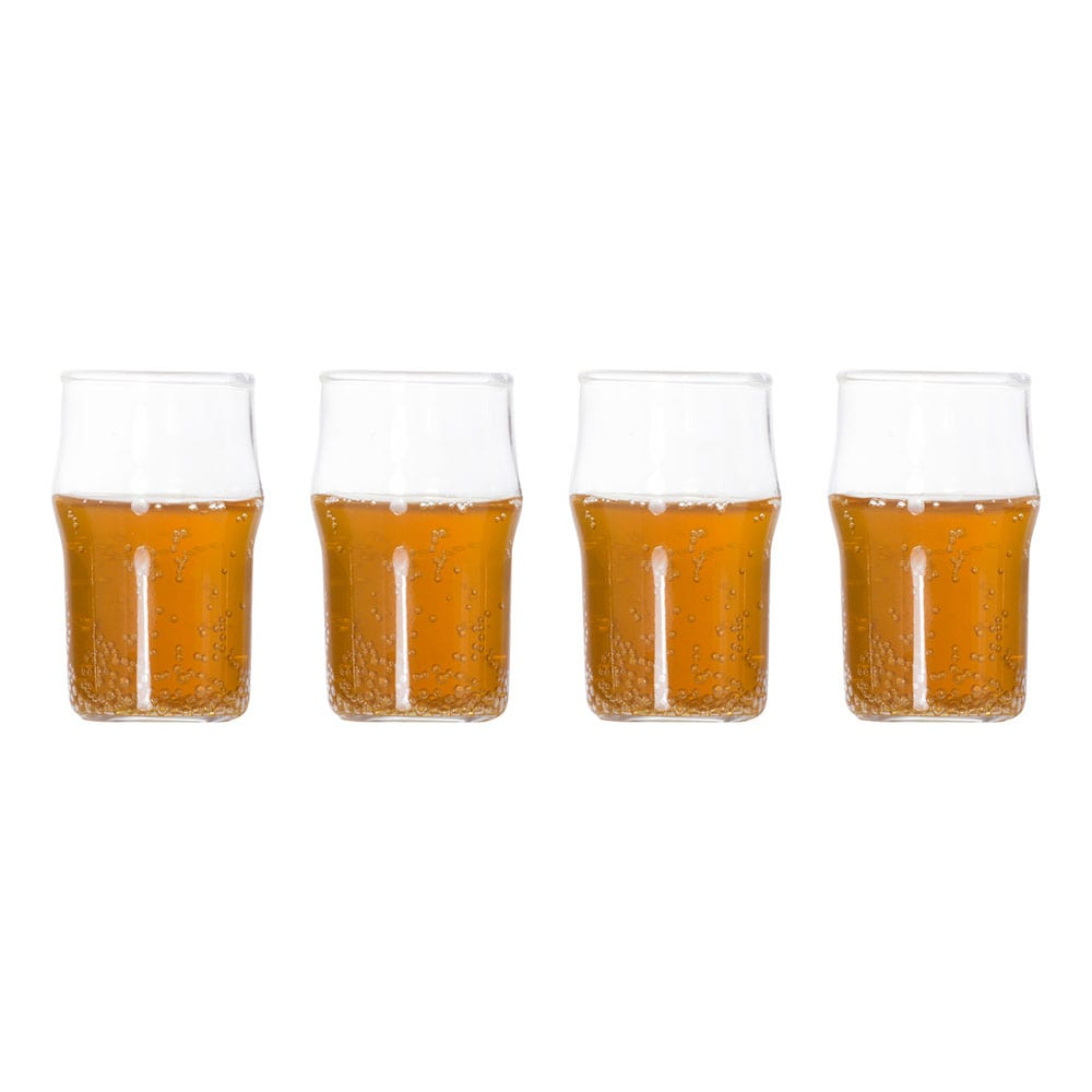 Ölglas Shotglas – 4-pack
